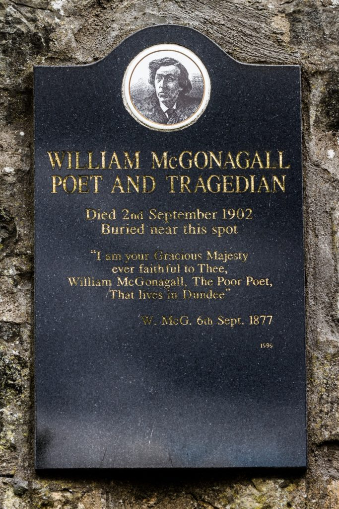 Greyfriars William McGonagall grave Edinburgh