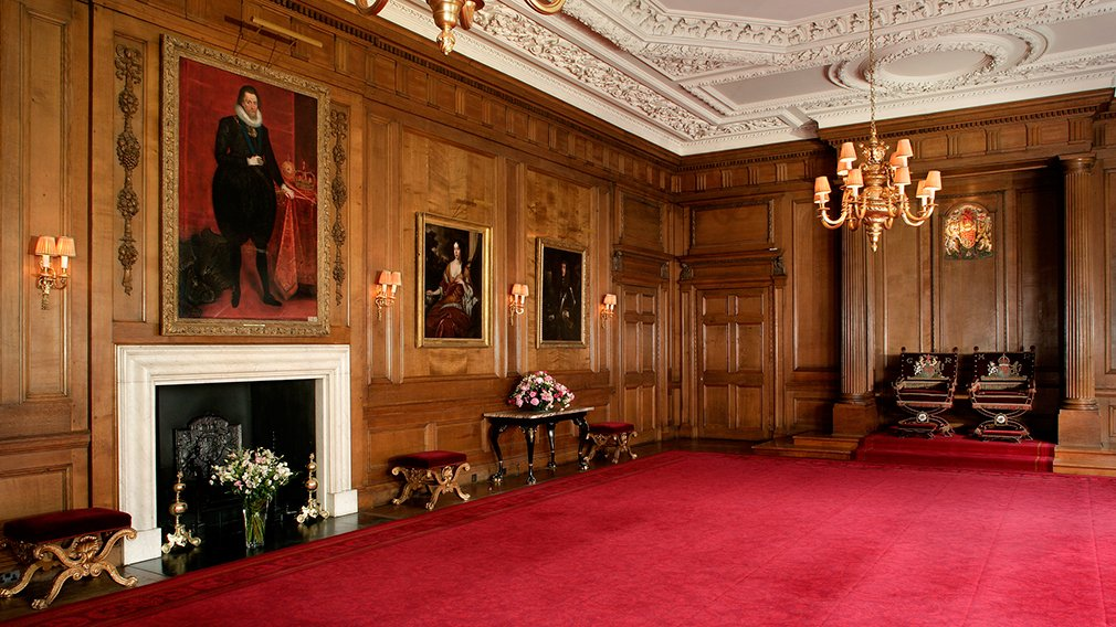Holyroodhouse Throne Room