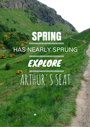 Arthur's Seat in Spring