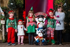 Dobbies Santa Grotto in Edinburgh at Christmas 2018