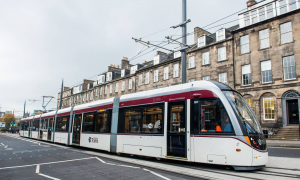 Edinburgh Tram Extension Map & Route Works